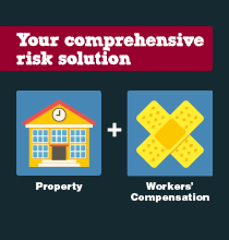 property and workers' compensation